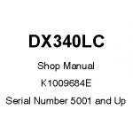 راهنمای تعمیر بیل مکانیکی دوسان مدل DX340LC