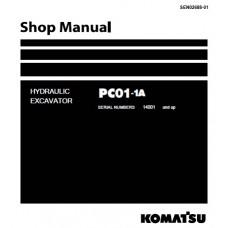 راهنمای تعمیر بیل مکانیکی کوماتسو مدل pc01-1A