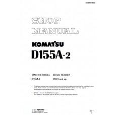 راهنمای تعمیر بلدوزر کوماتسو مدل D155A-2