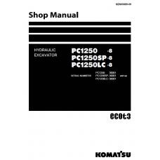 راهنمای تعمیر بیل مکانیکی کوماتسو مدل pc1250-8