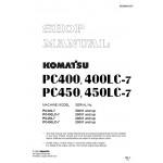 راهنمای تعمیر بیل مکانیکی کوماتسو مدل PC400-7, PC400LC-7, PC450-7,PC450LC-7