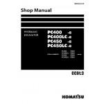 راهنمای تعمیر بیل مکانیکی کوماتسو مدل Pc400-8 Pc400lc-8 Pc450-8 Pc450lc-8
