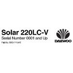 راهنمای تعمیر بیل مکانیکی دوسان مدل Solar220LC-V